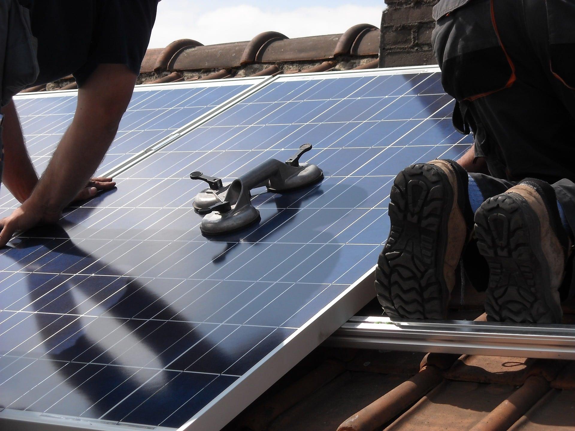 zonnepanelen plaatsen in Colmschate